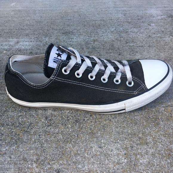 mens black converse size 8, OFF 75